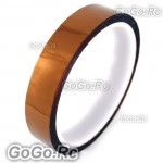 18mm 1.8cm x 30M Kapton Tape High Temperature Heat Resistant Polyimide (F019-18)