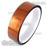 24mm 2.4cm x 30M Kapton Tape High Temperature Heat Resistant Polyimide (F019-24)