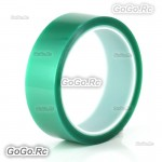 50mm x33m(100ft) Green PET Tape High Temperature Heat Resistant Solder BGA PCB