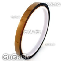 10mm x 10M Double Adhesive Side Kapton Tape High Temperature Resistant Polyimide