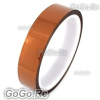 20mm x 10M Double Adhesive Side Kapton Tape High Temperature Resistant Polyimide