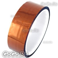 30mm X 30M No Adhesive Side Kapton Tape High Temperature Resistant Polyimide