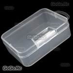 10 Pcs Hard Storage Plastic Case Storage Box Container Box 92 mm x 68 mm x 30mm