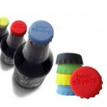 6 Pcs Reusable Bottle Cap Silicone Gel Top Lid Cover Wine Beer Saver - H00002