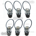 6 Pcs Red Wine Aerator Pour Spout Bottle Stopper Decanter Pourer Aerating F028x6