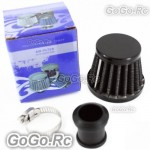 12mm BLACK CONE MINI OIL AIR INTAKE CRANKCASE VENT VALVE COVER BREATHER FILTER