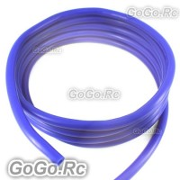 Φ5mm x 2.5mm Wall Silicone Vacuum Tube Hose Blue 1 Meter 3.3FT BF006BU05