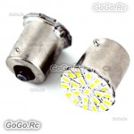 2 Pcs 22 LED SMD 1206 12V 1156 BA15S 1073 1093 Car Tail Signal Light LE009-22WH