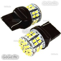 2 Pcs T20 7740 1206 50 SMD Brake Light Signal Turning Parking Led - LE008-50WH
