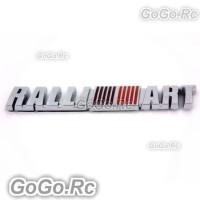 3D RALLI ART Misubishi Badge Emblem Sticker Decoration Tag (DL0069)