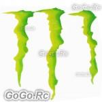 1 Pcs Monster Energy Drink Logo Sticker Decal Car Bumper 175mmx198mm - CSM00620
