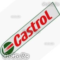 CASTROL Motorcycle Racing Car Sticker Decal Emblem 45mmx180mm - CSC001