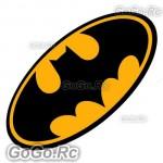 Batman Logo Sticker Decal Begins Retuns Dark Knight 125mmx200mm - CSB002-2