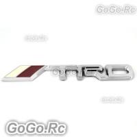 3D TRD Racing Badge Emblem Sticker Decoration Tag for Motor Cars (DL0059)