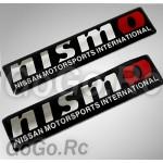 2 Pcs NISMO Nissan Racing Sticker Decal K5-60005