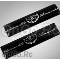 2 Pcs GARSON Automobile Accessories Sticker K5-60015