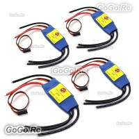 4 Pcs SimonK 30A ESC Brushless Speed Controller 2-4S for FPV Drone Multicopter