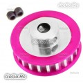CNC Aluminum 22T Center Pulley Gear for 3racing SAKURA Drift D3 Sport RC Models