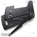 CNC Aluminum Suspension Ride Height & Camber Gauge Tool for 1/10 RC Car Black