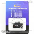 Corona CR4D 4ch 2.4GHz R/C Hobby V2 DSSS Micro Receiver For RC Model
