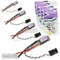 4 Pieces of Emax Bullet BLHeli-S Mini DSHOT 20A ESC For 2-4S FPV Racing Drone