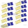 10 Pair 8mm EC8 Bullet Connector Male + Female Plugs Adapters Battery Losi