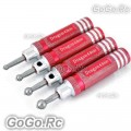 4 in 1 450 Ball Head Reamer Link Sizing Tool For Align Ball Links Red (F002-RD)