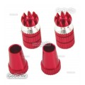 Aluminum Transmitter Stick Red Φ M4 Size For Transmitter (F035RDM4)