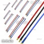 30 Pcs 3.5mm Bullet Connector Male-Female Extension Wire 14AWG 20CM For Rc Motor