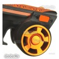 Flysky FS-GT3C 2.4G 3CH Transmitter & Receiver Orange For RC Car Truck Boat - Orange