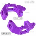 HSP 102010 (02132) Purple Alum Front Hub Carrier (L/R) For 1/10 Upgrade Parts