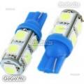 10 Pcs T10 194,168,W5W 9 5050 SMD LED Ice Blue Car Light Lamp Bulb 12V