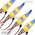 4x Mystery Cloud 20A Brushless Speed Controller ESC For RC Helicopter Airplane