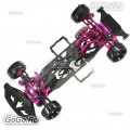 1/10 Alloy & Carbon SAKURA D4 AWD EP Drift Racing Car Frame Body Kit
