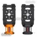 2 Pcs Tarot 28MM Suspension Motor Mount Shock Absorber Orange & Black TL28A04-5