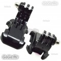 2 Pcs Vertical Surface J-Hook Buckle Mount Adapter For GoPro Hero 2 3 3+ 4 GP19