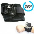 Rotation 360 Degree Wrist Hand Strap Band Holder Mount For GoPro Hero 2 3 4 GP30