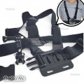 Chest Body Strap with 3-way Adjustment Base For GoPro Hero 4/3/2/1 - GP34B