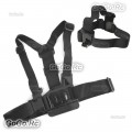 Chest Body Strap + Head Belt Strap For GoPro Hero 4 3+ 3 2 1 - GP41
