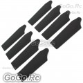4 Set Tail Rotor Blade For T-rex 250 Helicopter (AH25084-BLx4)
