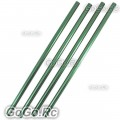 4 Pcs Green Tail Boom 241mm For Trex T-rex 250 Helicopter (LH25030GN)