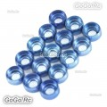 15 Pcs Frame Hardware Washers Body Gaskets Blue For ΦM2 Screws 450 - CHS1122A-BU