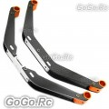 Tarot New type Carbon Fiber Landing Skid Orange For Trex 550 600 (RH60126-01)