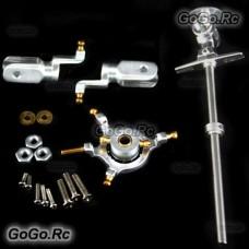 CNC Aluminium Head for Walkera Genius / Mini / Super CP - Silver (WA001SI)