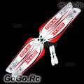 Main Blade Tail Blade for SH MiniX Helicopter 6025-01 - Red (MH015-RD)
