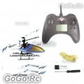 4CH Channel 2.4GHz RC Radio Control Single Blade Mini Helicopter White SH6032-WH