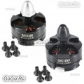2 Pcs MYSTERY MY2204 2300KV CW/CCW Thread Brushless Motor For 250 Quadcopter
