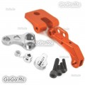 CNC Alloy FPV LCD Monitor Mount Bracket Support For Futaba DJI Transmitter Orange