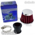12 mm Red CONE MINI OIL AIR INTAKE CRANKCASE VENT VALVE COVER BREATHER FILTER