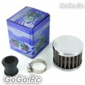 12 mm Stainless Steel Mini Oil Air Intake Crankcase Vent Cover Breather Filter